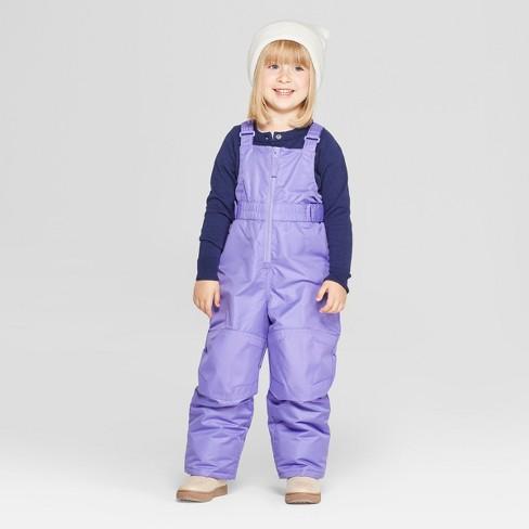 5b17cb28e Toddler Girls  Snow Pants - Cat   Jack™ Purple 2T   Target