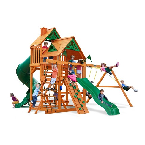 Gorilla Playsets Great Skye I Swing Set with Amber Posts - image 1 of 3