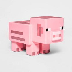 Minecraft Decorative Pig Bank Pink