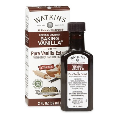 Watkins Double Strength Vanilla - 2oz