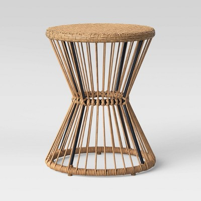 Mulberry Patio Side Table - Natural - Threshold™