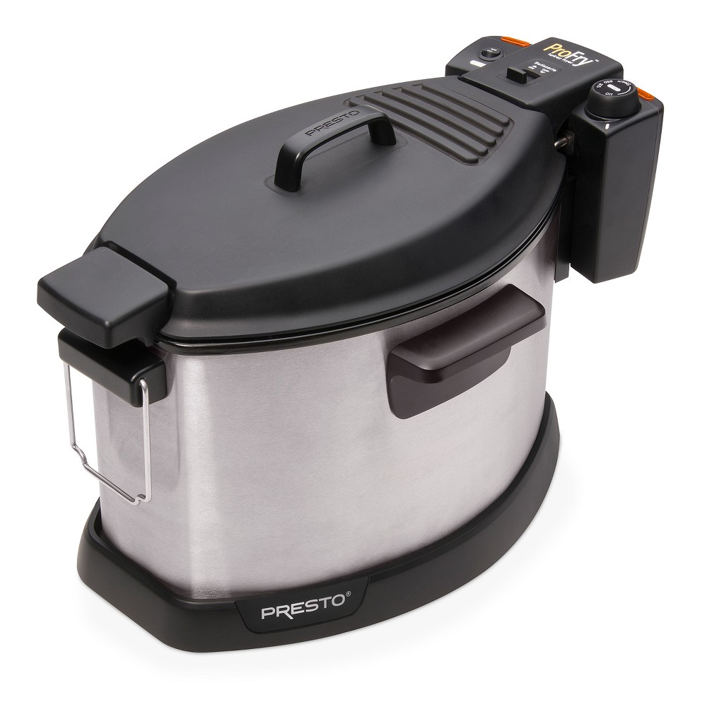 Presto 5qt Turkey Fryer – 5487, Silver 52663801