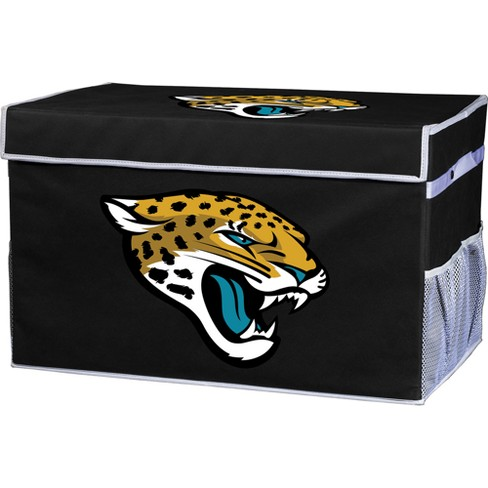 NFL Franklin Sports Jacksonville Jaguars Collapsible Storage Footlocker Bins - image 1 of 6