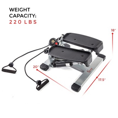 sunny health and fitness (no 045) twisting stair stepper with bandssunny health and fitness (no 045) twisting stair stepper with bands target