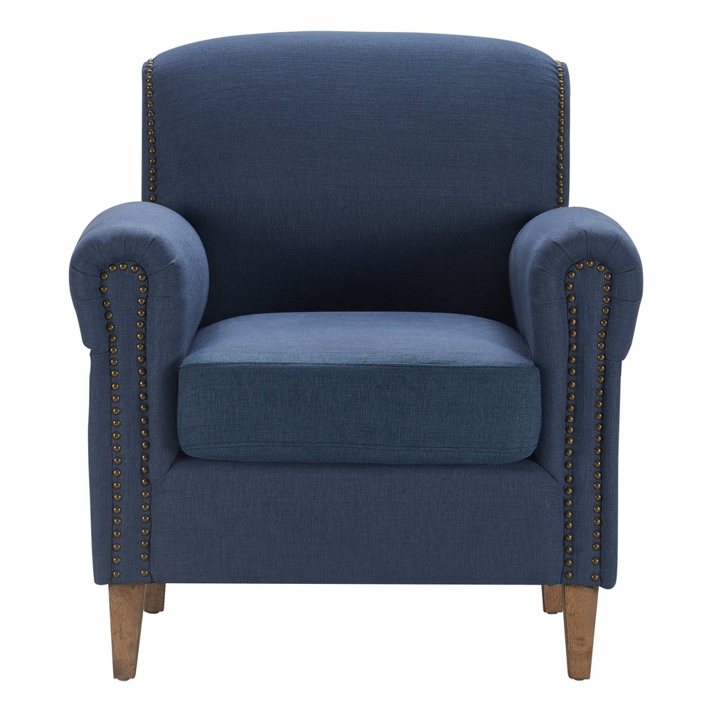 Image of Elmhurst Accent Chair French Blue - Finch