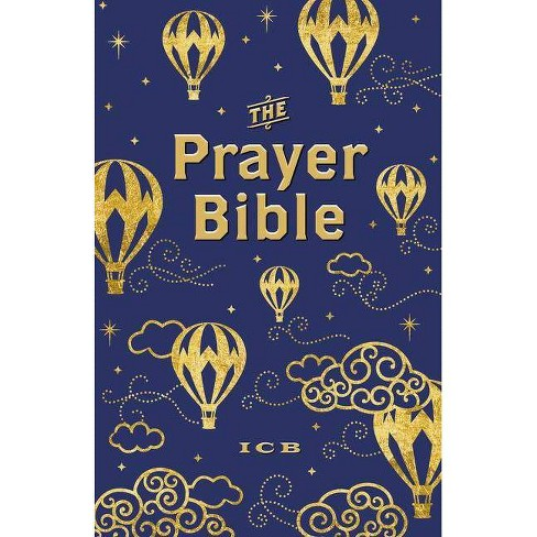 ICB Prayer Bible for Children - Navy and Gold - by  Thomas Nelson (Hardcover) - image 1 of 1