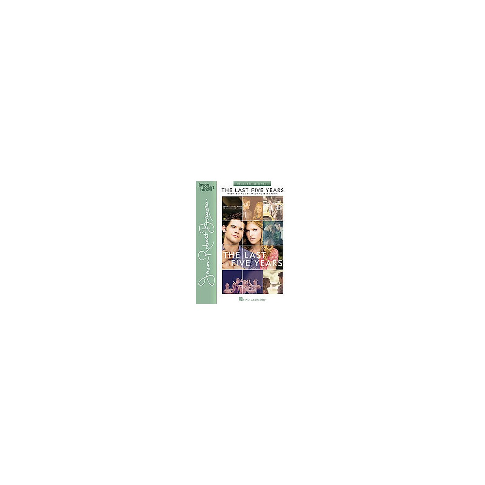Last Five Years : Movie Vocal Selections (Paperback)