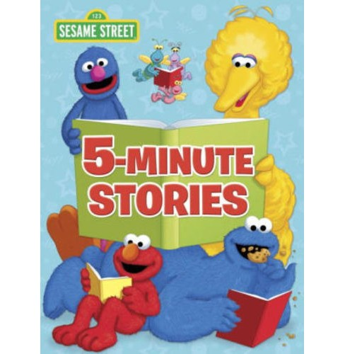 Sesame Street 5-Minute Stories (Hardcover) (Various authors) - image 1 of 1