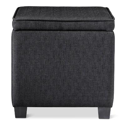 Storage Ottoman with Lap Desk Black - Room Essentials™