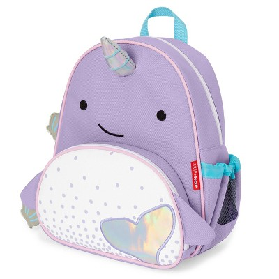 """Skip Hop Zoo Little & Toddler 12"""" Kids' Backpack - Narwhal"""