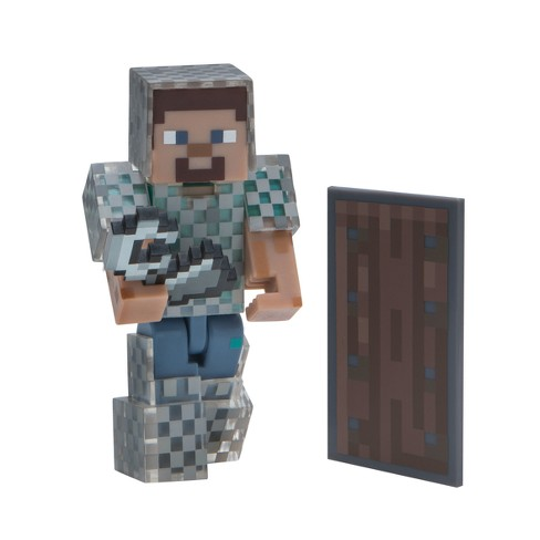Minecraft Core Figures - Steve in Chain Armor - image 1 of 2