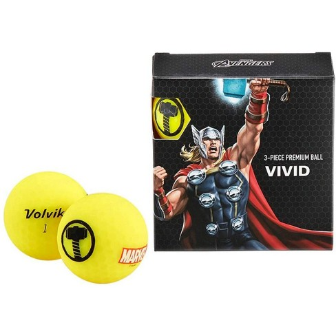 Volvik Marvel Golf Balls 4pk-Thor - image 1 of 1