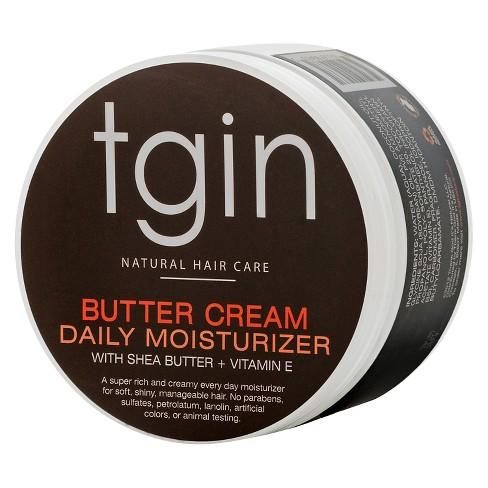 TGIN Butter Cream Daily Moisturizer with Shea Butter + Vitamin E - 12oz - image 1 of 4