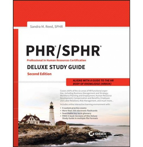 Phr and Sphr Professional in Human Resources Certification Complete Deluxe Study Guide : 2018 Exams - image 1 of 1