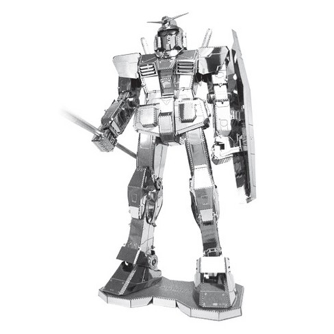 Fascinations ICONX RX-78-2 Gundam 3D Metal Model Kit - image 1 of 1