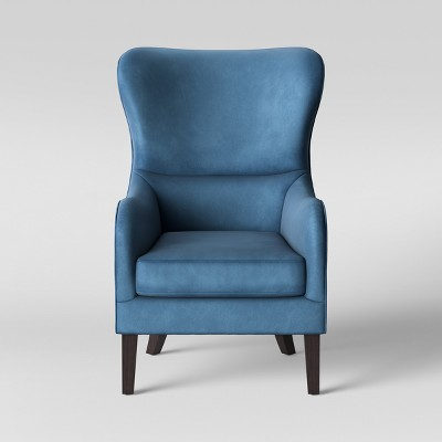 Superbe Torenia Velvet Wingback Chair   Opalhouse™