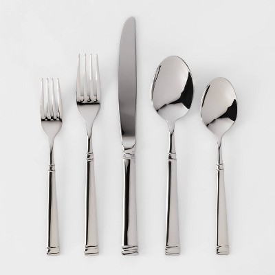 20pc Stainless Steel Hartford Silverware Set - Threshold™