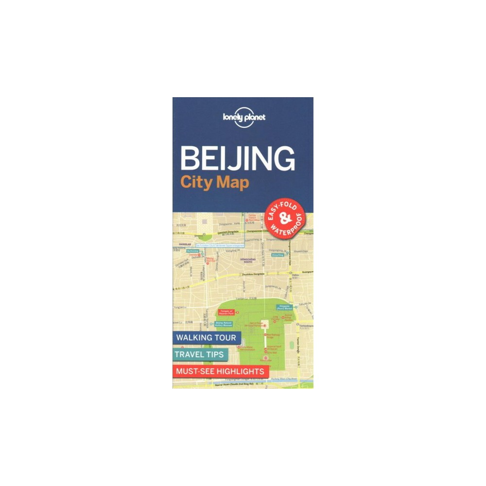 Lonely Planet Beijing City Map (Paperback)