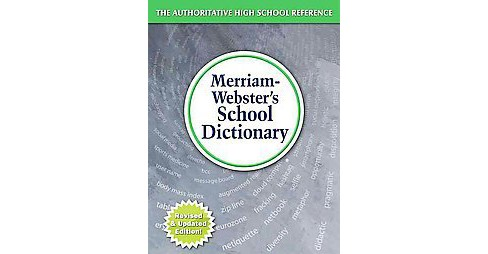 Merriam-Webster's School Dictionary (Revised / Updated) (Hardcover) - image 1 of 1