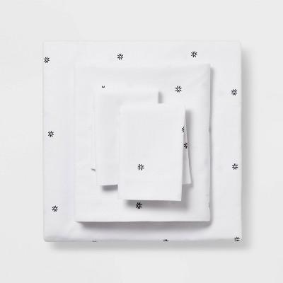 King Easy Care Printed Pattern Sheet Set Flower Dot - Room Essentials™