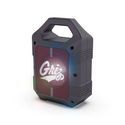NCAA Montana Grizzlies Bluetooth Speaker with LED Lights