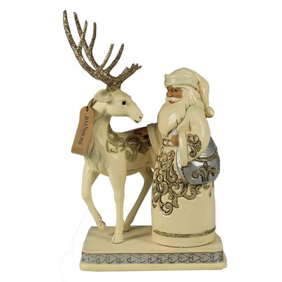 """Jim Shore 10.25"""" It Cost Nothing To Be Kind Holiday Lustre Santa  -  Decorative Figurines"""