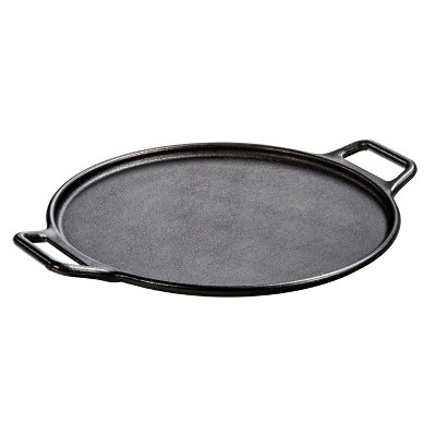 Lodge 14  Cast Iron Pizza Pan Black