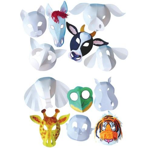Roylco Wild Animal Mask, set of 30 - image 1 of 1