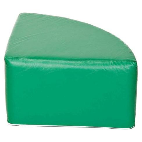 foamnasium™ Corner Table Play Furniture - Green - image 1 of 2
