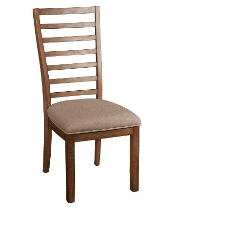 Set of 2 Caleb Side Chair Red Oak - Powell Company - image 1 of 3
