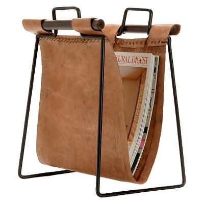 Leather & Iron Sling Magazine Holder
