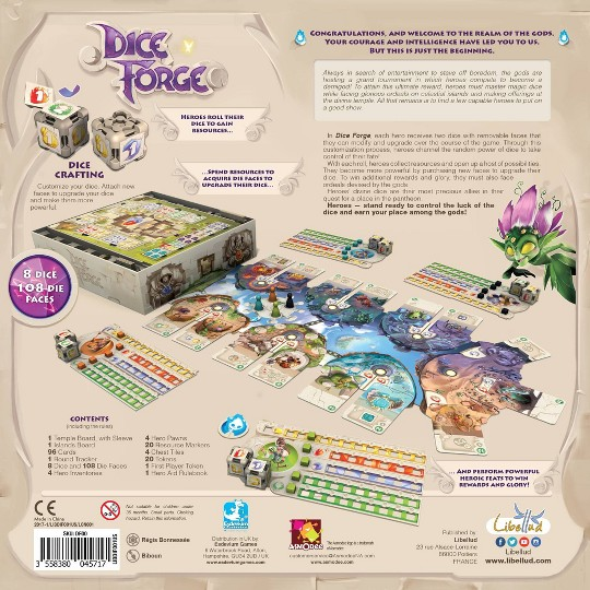 Dice Forge Board Game, board games image number null