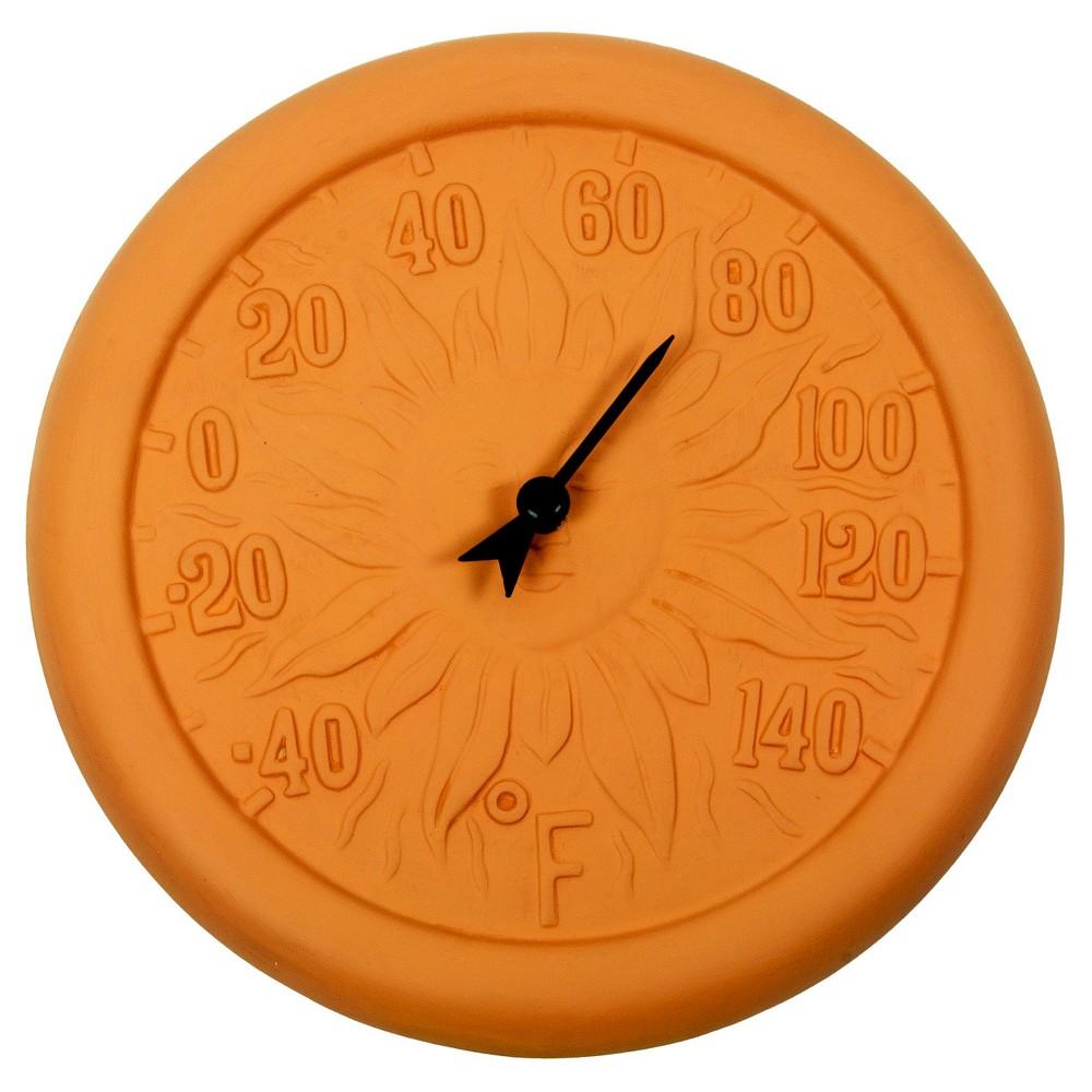 Poolmaster Terra Cotta Thermometer - Orange