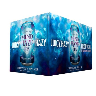 Firestone Walker Mind Haze IPA Beer - 6pk/12 fl oz Cans