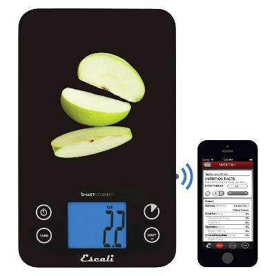 Escali SmartConnect Kitchen Scale with Bluetooth® LE