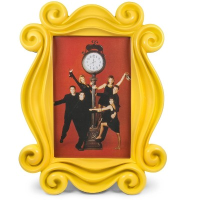 Robe Factory LLC Friends Yellow Door Polyresin Photo Frame With Stand | 10 x 7.5 Inches