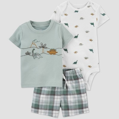 Baby Boys' Dino Top & Bottom Set - Just One You® made by carter's Green