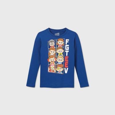 Boys' FGTeeV Graphic T-Shirt - Blue XS