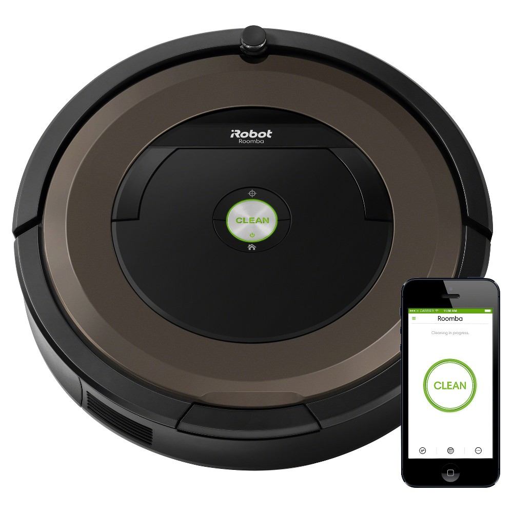 Image of iRobot Roomba 890 Robot Vacuum, Black