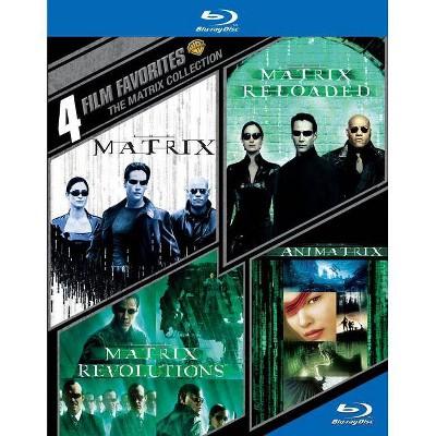 4 Film Favorites: The Matrix Collection (Blu-ray)(2015)