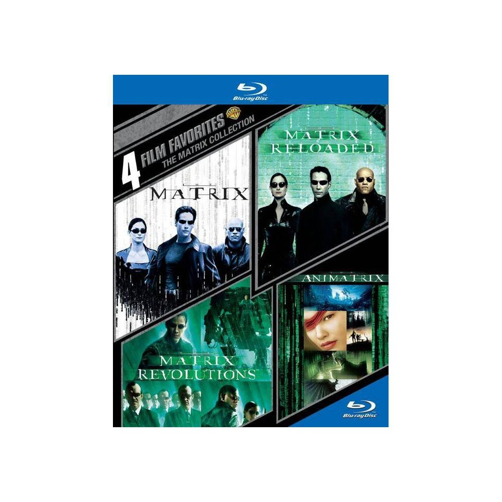 4 Film Favorites: The Matrix Collection (Blu-ray)