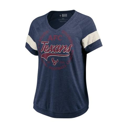 promo code 3b45f 65ef0 NFL Houston Texans Women's Vintage Legend T-Shirt