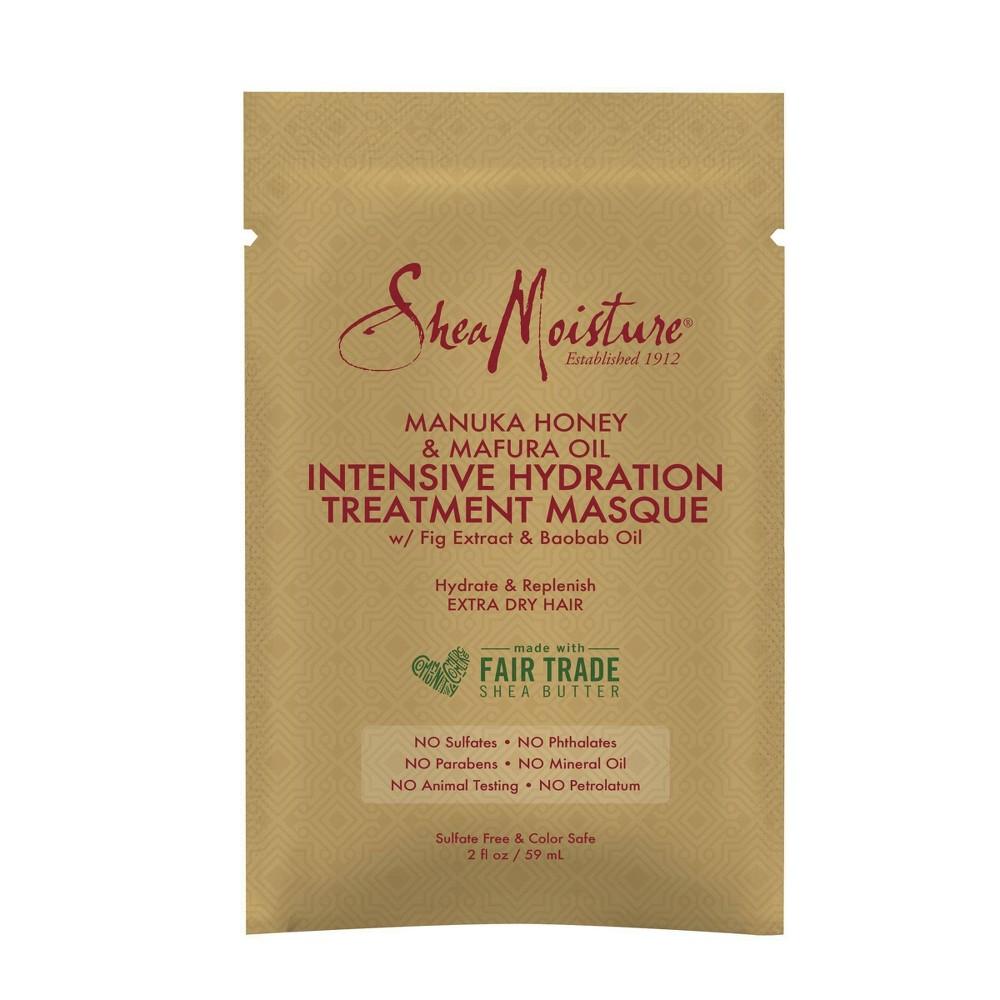 Sheamoisture Manuka Honey Mafura Oil Intensive Hydration Hair Masque 2 Fl Oz
