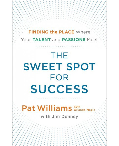 Sweet Spot for Success : Finding the Place Where Your Talent and Passions Meet -  (Paperback) - image 1 of 1