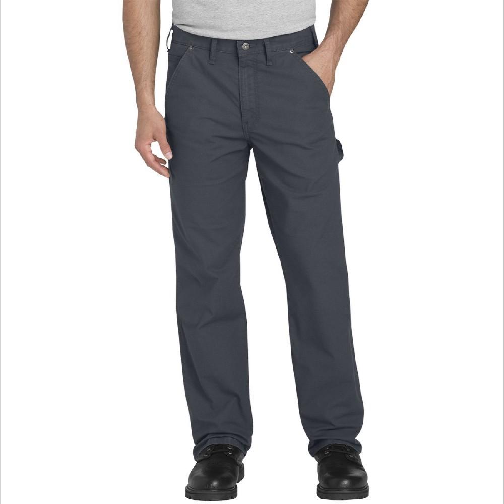 Dickies Men's Tough Max Ripstop Flex Regular Straight Fit Carpenter Pants - Gray 42x30