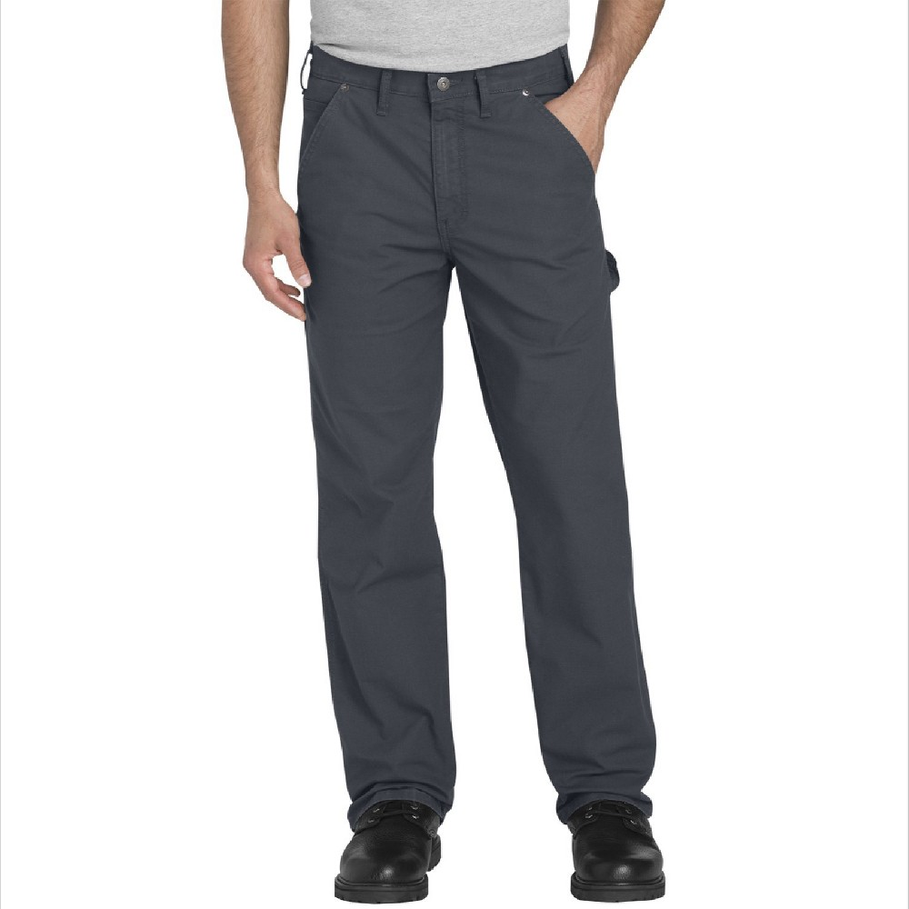 Dickies Men's Big & Tall Ripstop Flex Regular Straight Fit Carpenter Pants - Gray 44x30