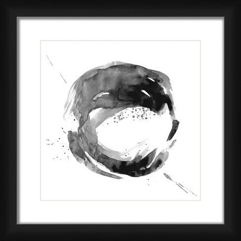 """18"""" x 18"""" Matted to 2"""" Cosmic Picture Framed Black - PTM Images - image 1 of 4"""