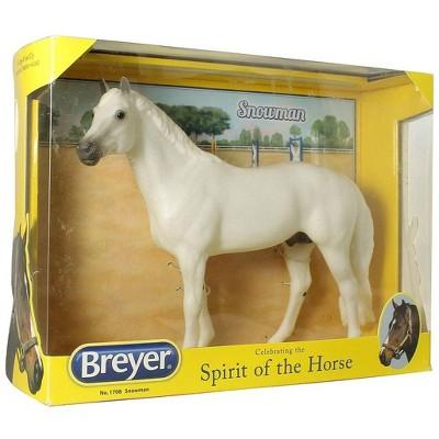 Breyer Animal Creations Breyer 1:9 Traditional Series Model Horse: Snowman (Show Jumper)