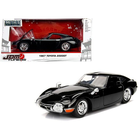 1967 Toyota 2000gt Coupe Black Jdm Tuners 1 24 Diecast Model Car