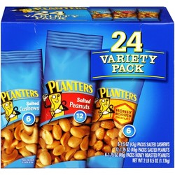 Planters Nuts Variety Pack - 8.5oz - 24ct